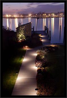 63 Ideas Landscape Lighting Design Trees For 2019 Walkway Lights, Pathway Lighting, Tree Lighting, Outdoor Lighting, Lighting Ideas, Landscape Lighting Design, Outdoor Walkway, Large Pendant Lighting, Farmhouse Lighting