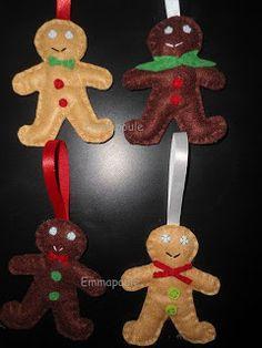 Felt + Gingerbread Man