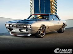 Larry Callahan bought a 1968 Chevy Camaro just 20 years ago, and has changed directions drastically that he had Prodigy Customs completely resconstruct the Camaro in 40 days for the 2008 SEMA Show. - Camaro Performers Magazine