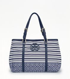 STACKED LOGO MINI ELLA TOTE|バッグ | Tory Burch (トリー バーチ)