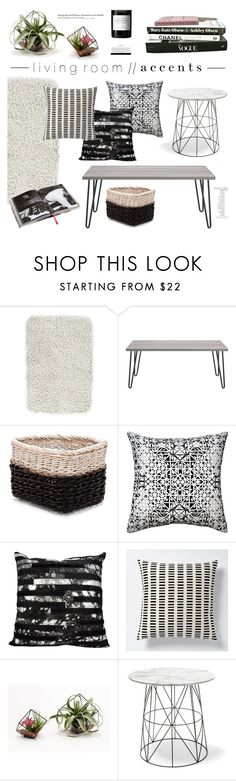 """""""l i v i n g  r o o m // a c c e n t s"""" by emmy ❤ liked on Polyvore featuring interior, interiors, interior design, home, home decor, interior decorating, Home Decorators Collection, Mulberry, Savannah Hayes and Nourison"""