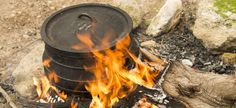 Potjie No: 3 Serves: 6 Cooking Time: 2 hours Ingredients 1 kg venison, cubed 25 ml sunflower oil 1 large onion, chopped 4 cloves garlic, crushed 5 ml whole Beer Bread, Open Fires, Sunflower Oil, Venison, Dried Fruit, Bread Baking, No Cook Meals, Cooking Time, Good Food