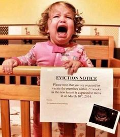 EVICTION NOTICE....this is HILARIOUS!!!
