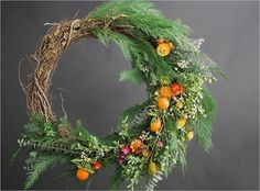 It's time to make your very own DIY wreath this holiday season. We've rounded up our favorite DIY wreath tutorials for you to get started! Diy Fall Wreath, Holiday Wreaths, Christmas Decorations, Autumn Wreaths, Wreath Ideas, Holiday Crafts, Holiday Ideas, Modern Holiday Decor, Modern Wreath