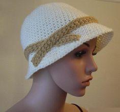 (4) Name: 'Crocheting : FREE 1920's Flapper Ladies Hat