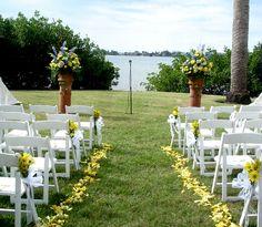 field wedding | Garden Wedding-Field Club Sarasota – Flowers By Fudgie | Your ...
