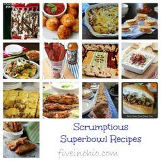 26 Scrumptious Superbowl Recipes