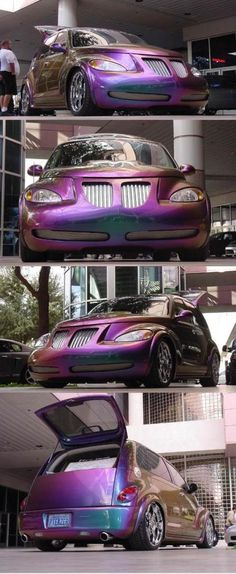 Has anyone done a chameleon paint job on their baby? - Page 2 - PT Cruiser Forum