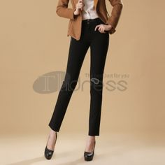 Slim stretch comfortable straight jeans