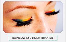 rainbow eyes tutorial