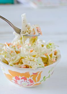 "Memphis Coleslaw -  cut your calories - use 1/2 cup ""greek"" yogurt with 1/2 cup mayo - can't tell the difference ......"