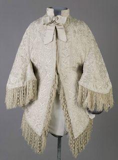 Silk Moire Overcoat  c.1870