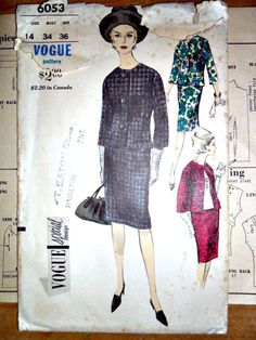 Misses Suit Jacket Skirt and Blouse Vintage by stitchingbynumbers, $14.00