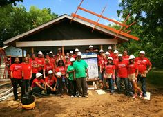 KW Red Day 2016 was a great success!!! On May 12, 2016 Keller Williams Dallas-Park Cities assisted Habitat for Humanity construct 2 homes in South Dallas.   Through affordable homeownership opportunities, financial education, advocacy efforts, and neighborhood empowerment programs, Dallas Habitat transforms families, revitalizes neighborhoods, and is working together to build a better Dallas.