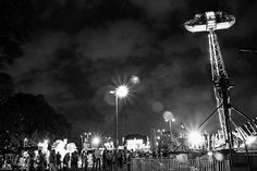St. George Fair, Baton Rouge in B&W.