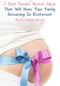 Need gender reveal ideas that will get the whole family excited? Check out this…