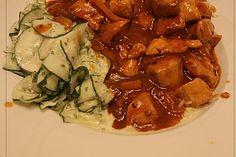 Hähnchengulasch Sauerkraut, Ratatouille, Pesto, Zucchini, Grilling, Curry, Beef, Chicken, Ethnic Recipes