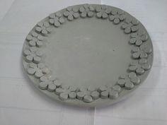 Prato em cerâmica