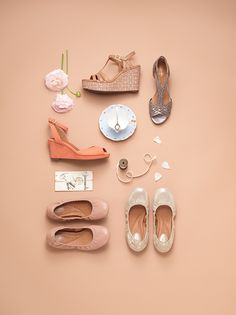 Ladylike Chic | Clarks Spring 2014 Lookbook #spring #trends #style