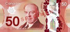 $50 Canadian dollars polymer banknote | #money #currency #banknotes