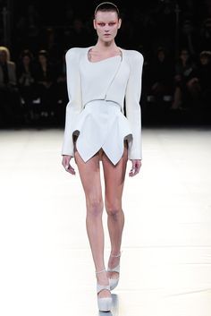 #Tailored dress - MUGLER f/w 2012 RTW