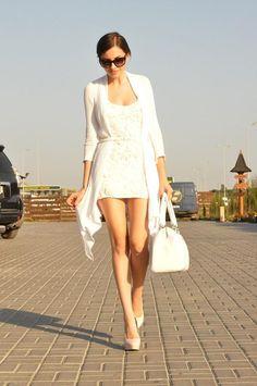 Shop this look on Kaleidoscope (dress, sweater) http://kalei.do/WlcWeA8nLT5vBIpA