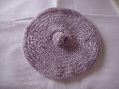 Boina em croche de lã