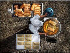 O vendendor de pastel  / Foto de Sergio Coimbra