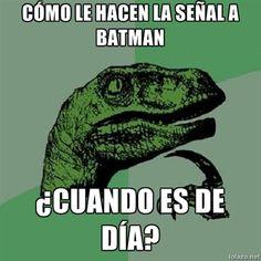 ¿Batman de día?