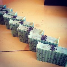 Basil Lime Body Scrub  Artisan Hemp Oil Soap  by NederlandNaturals.com with green clay