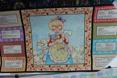 Mary Engelvreit Kitchen Capers Fabric Panel by Loriscountryfabrics, $7.95