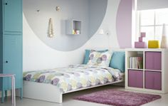 2014 Pantone Color of the Year - Radiant Orchid - Work this vibrant shade into your decor with accessories, like SKUBB storage boxes.
