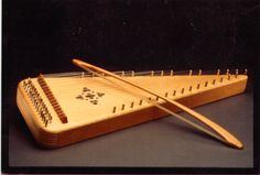 Bowed Psaltery Large