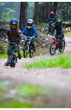 Whistler Mountain Bike Park - Kids. http://WhatIsTheBestMountainBike.com #WhatIsTheBestMountainBike