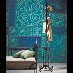 Moroccan inspired tiles... Turquoise in on the menu!