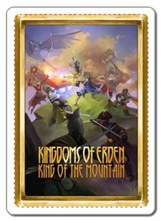 King of the mountain card game now live on kickstarter! https://www.kickstarter.com/projects/1835206317/kingdoms-of-erden-king-of-the-mountain-0  #king #queen #knight #fantasy #medieval #castle #bonfire #golem #treasure #weapons #sword #shield #assassin #blacksmith #infantry #archery #guard #captain #priest #rangers #general #paladin #emperor #empress