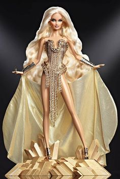 All sizes | The Blonds Blond Gold Barbie® Doll | Flickr - Photo Sharing!