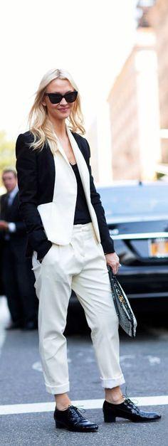 Street Style NYFW Zanna Roberts-Rossi i