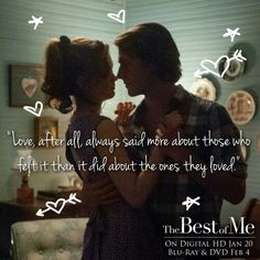 40 Best The Best Of Me Images Book Quotes Film Quotes