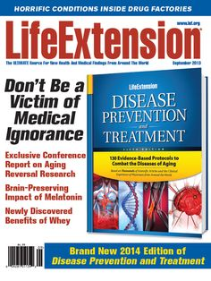 What's Hot, November 2013 Life Extension Magazine