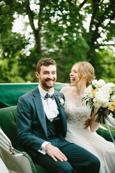 Adorable post-ceremony moment captured by Erin McCall Photography