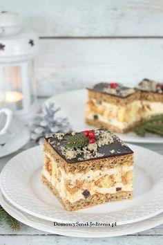 Chocolate Traybake, Polish Recipes, Homemade Cakes, Sugar Cookies, Tiramisu, Cheesecake, Food And Drink, Baking, Sweet