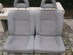 Seat Arosa /  VW LUPO  : Rücksitzbank in grau mit Kopfstützen