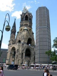 Der hohle Zahn Zahn, Tower Bridge, Berlin, Germany, Travel, Deutsch, Viajes, Traveling, Tourism