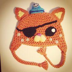 Kwazzi octonauts crochet hat I made  #crochet #hat #octonauts #kwazzi