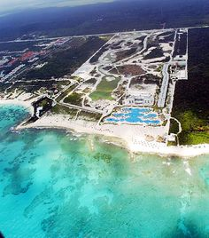 Aerial view of Mayan Palace Riviera Maya...It looks so different now!