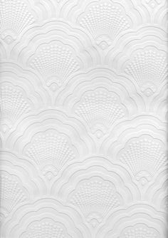Brewster Scalloped Sea Shell Print Paintable Wallpaper Paintable      Amazon.com