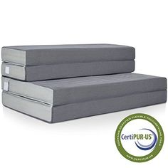 Sometimes, comfort comes in small packages. This folding mattress is made with CertiPUR-US certified, firm, high-density foam that molds to your body, and folds up three times for more compact storage and transport. Great for use as a guest mattress, floor sofa, or even a more comfortable bed... more details available at https://furniture.bestselleroutlets.com/bedroom-furniture/mattresses-box-springs/mattresses/product-review-for-best-choice-products-4-folding-portable-mattre