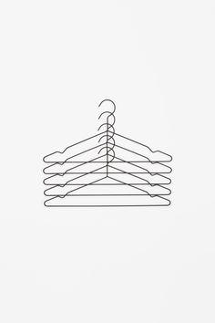COS × HAY wishlist | Metal coat hangers
