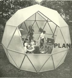 Charter-Sphere Dome by TC Howard (Howard family shown)